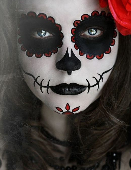 Atelier maquillage pour Halloween :)